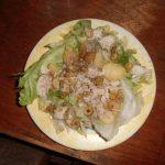 recept salade met gebakken aardappelen
