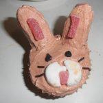 recept paashaas chocolade cupcake