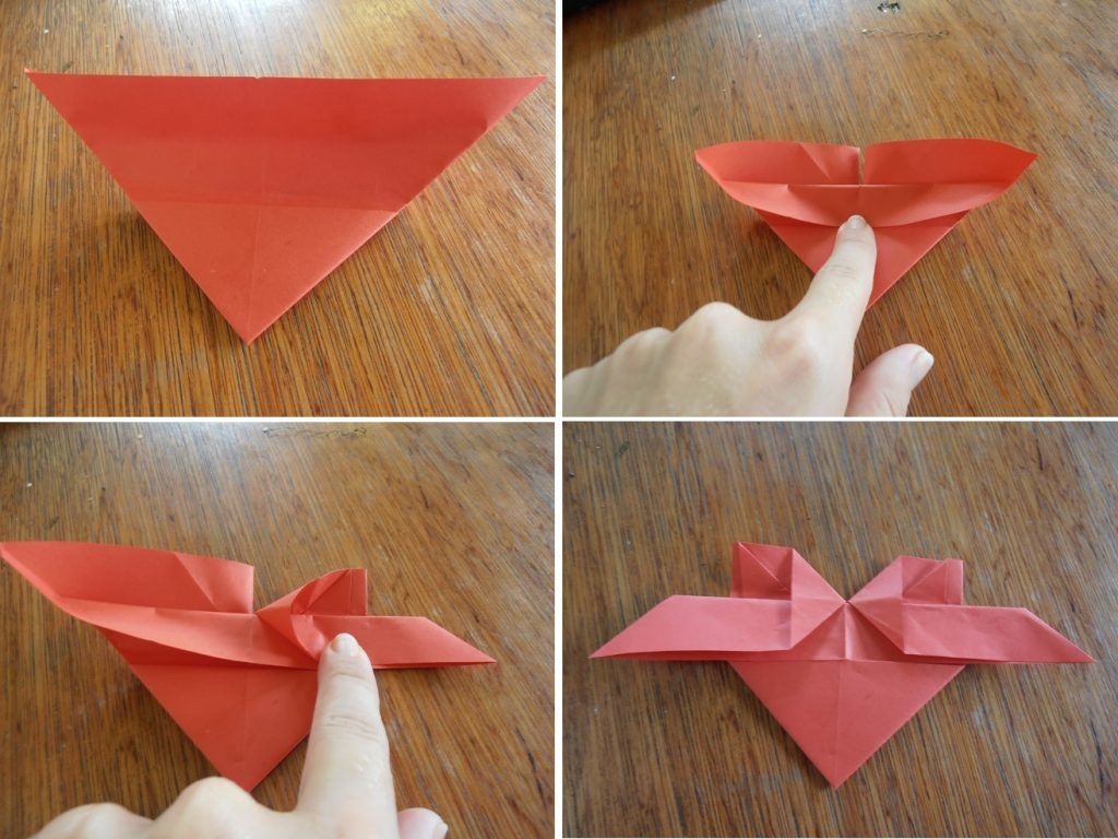 Valentijn DIY origami hartje 4