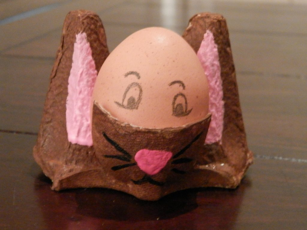 DIY eierdop maken voor Pasen maken 7