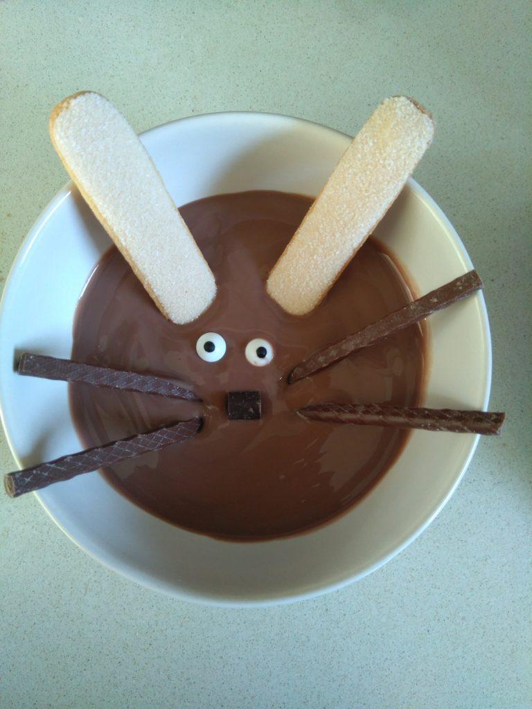 Makkelijk en snel chocolade Paasdessert 1