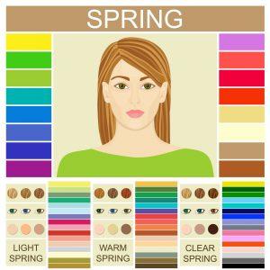 welke kleur past bij jou lente