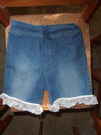 tip spijkerbroek trendy short maken