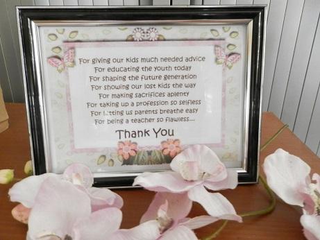 DIY bedankje voor leerkrachten