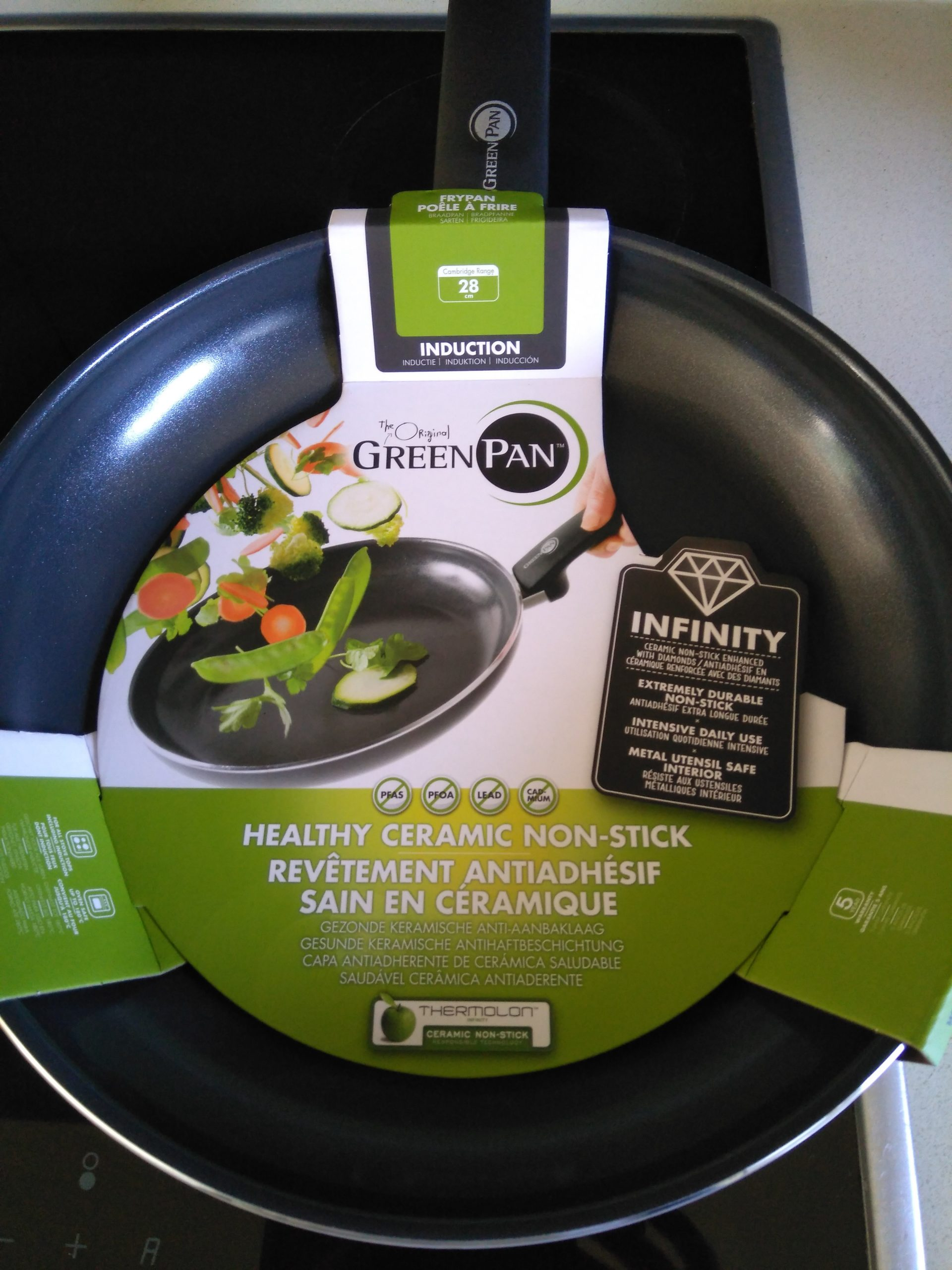 Review GreenPan keramische pan