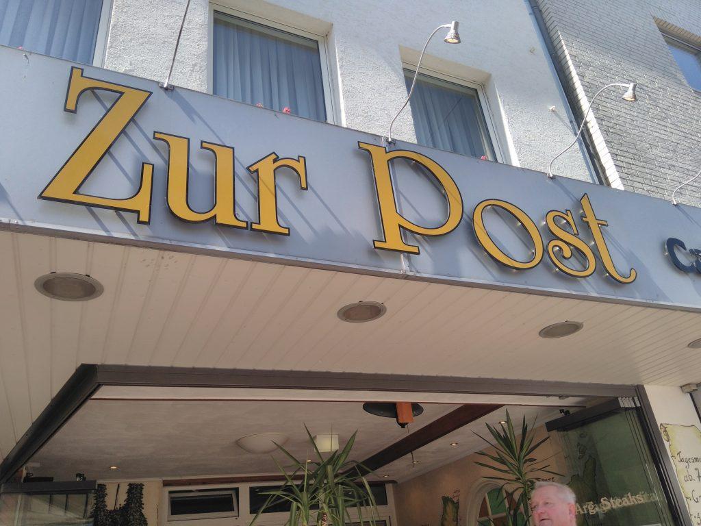 Steakhouse hotel zur Post Kleve Duitsland 16