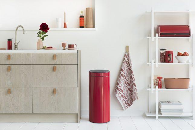 Een prullenbak die past bij het design van je kamer