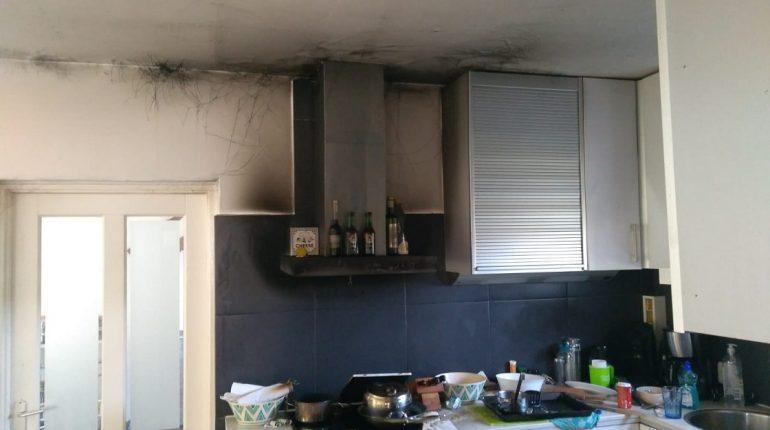 Wij hadden brand in ons huurhuis