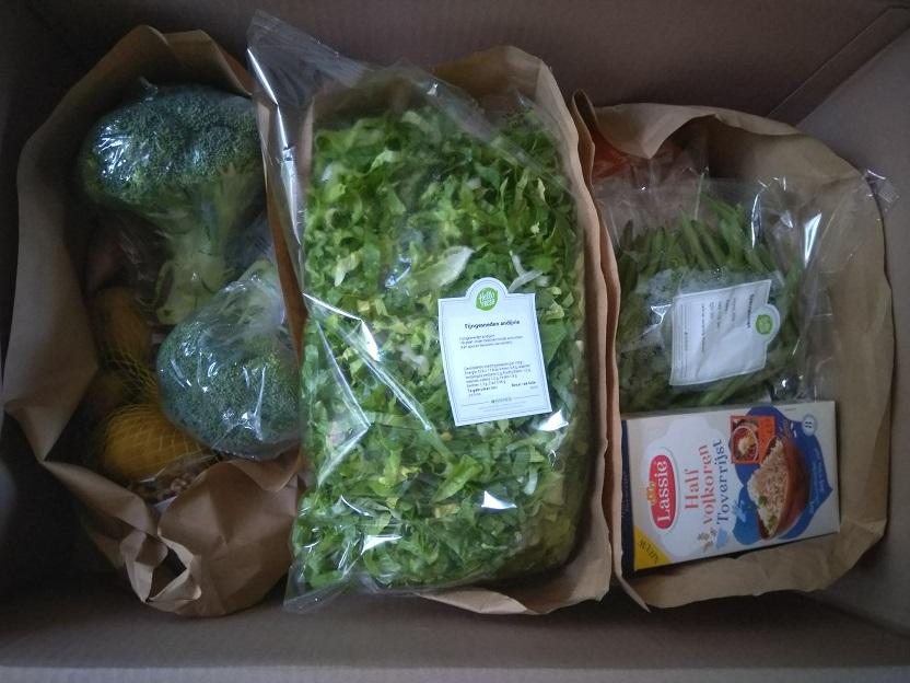 Hello Fresh Box elke avond een heerlijke maaltijd op tafel 1