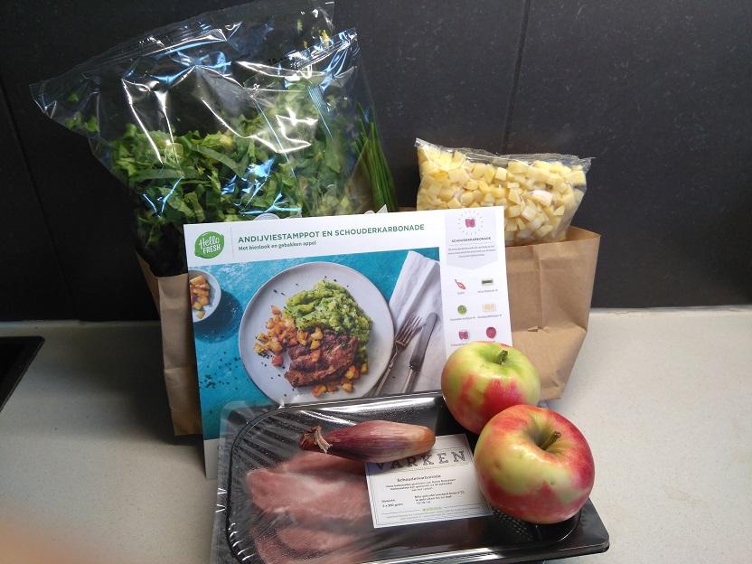 Hello Fresh Box elke avond een heerlijke maaltijd op tafel 3