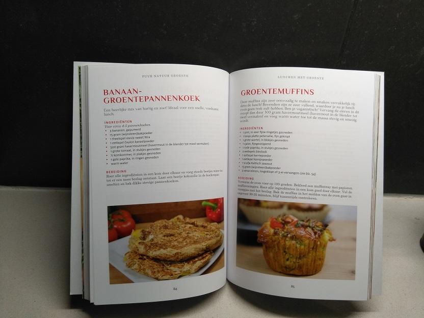 Recepten en tips in 'Puur natuur Groente' kookboek + winactie 1