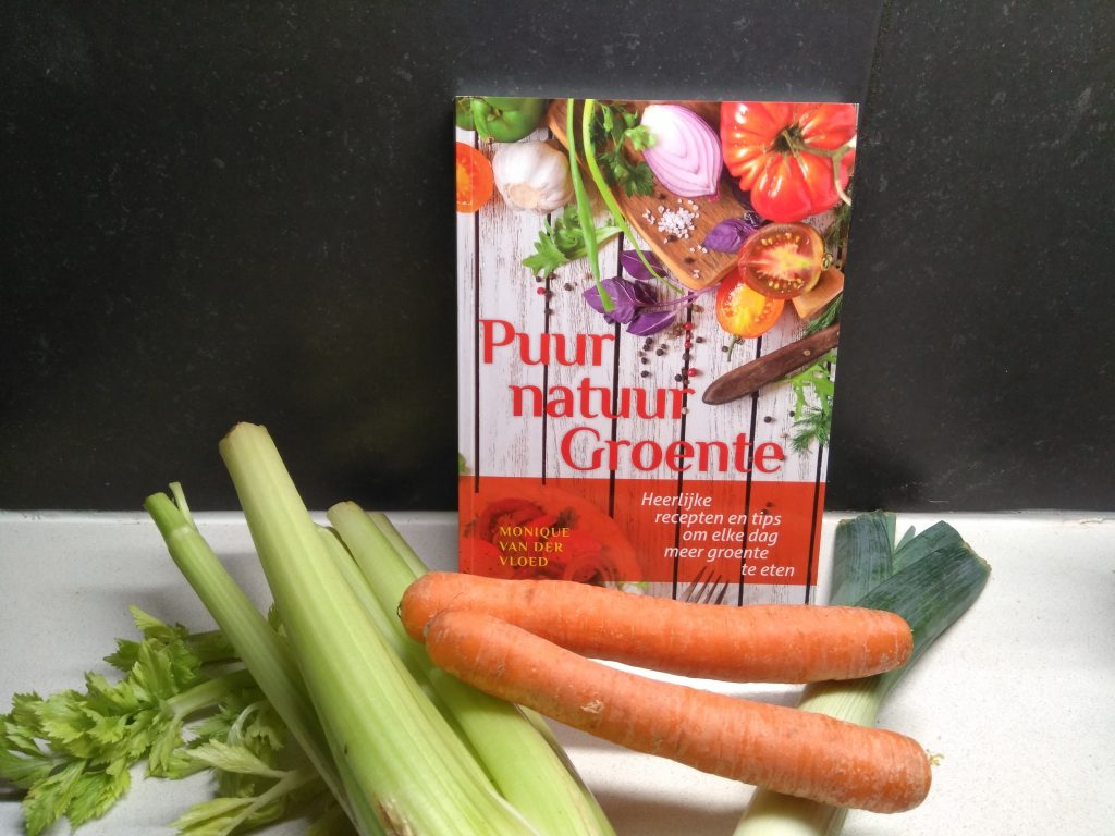 Recepten en tips in 'Puur natuur Groente' kookboek + winactie