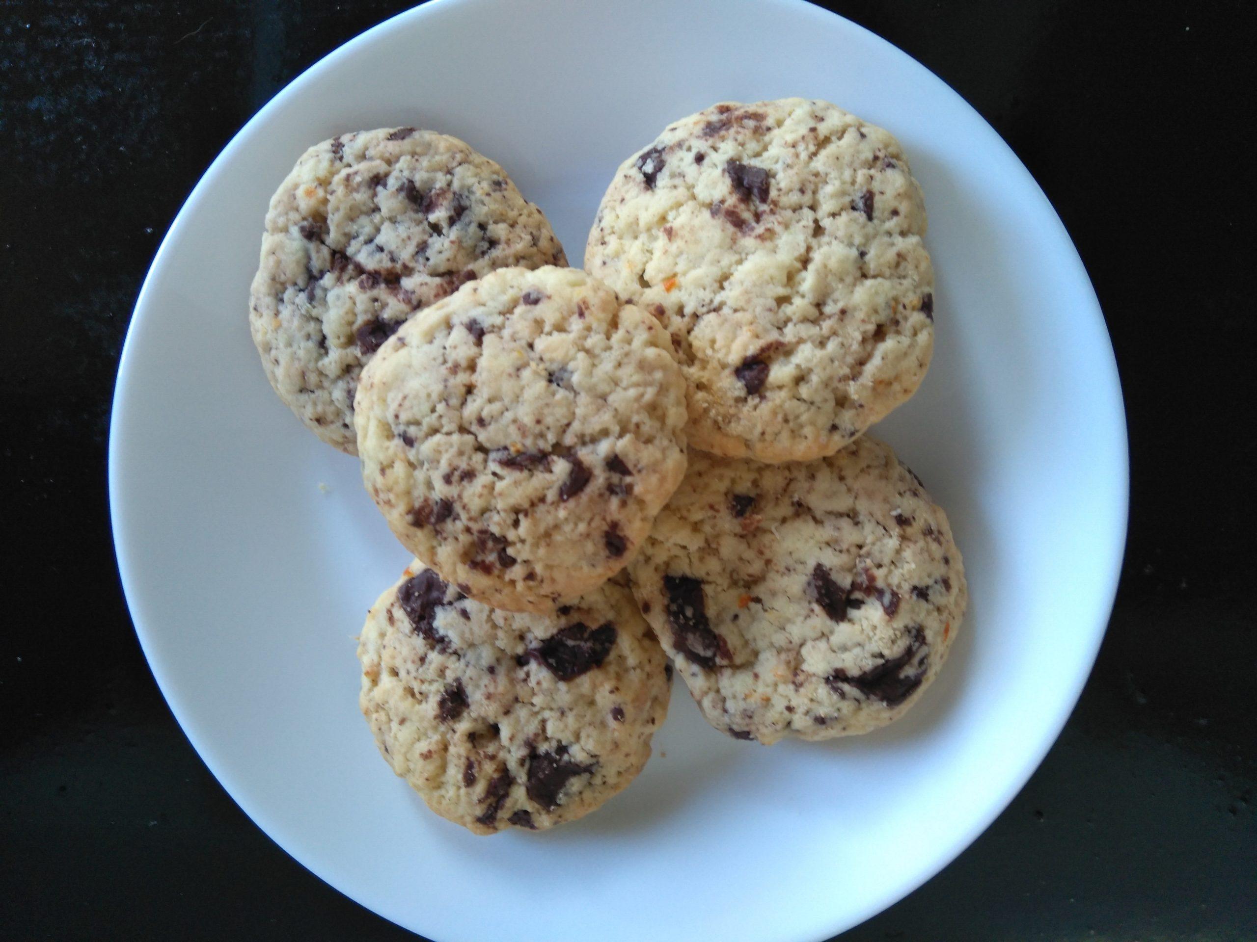 Recept sinaasappel chocolade koekjes