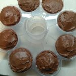 Duivelscupcakes met heerlijke chocolade glazuur 1