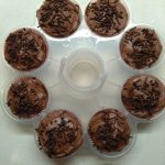 Duivelscupcakes met heerlijke chocolade glazuur