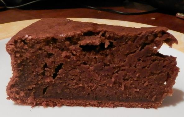 Banaan chocolade cake