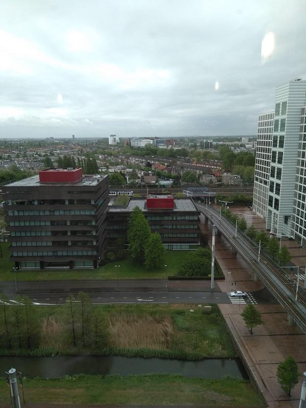 NH hotel Den Haag uitzicht over den haag