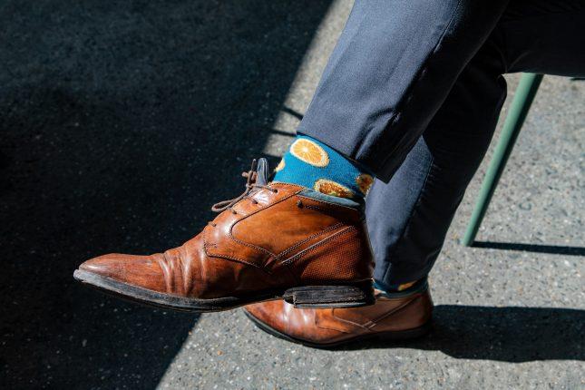 Vrolijk je outfit op met een paar Happy Socks