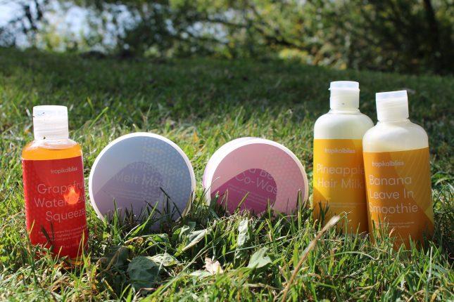 TropicalBLISS producten voor Curly Girl (CG) methode