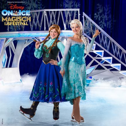 Win 4 zilveren tickets voor Disney On Ice Magisch IJsfestival