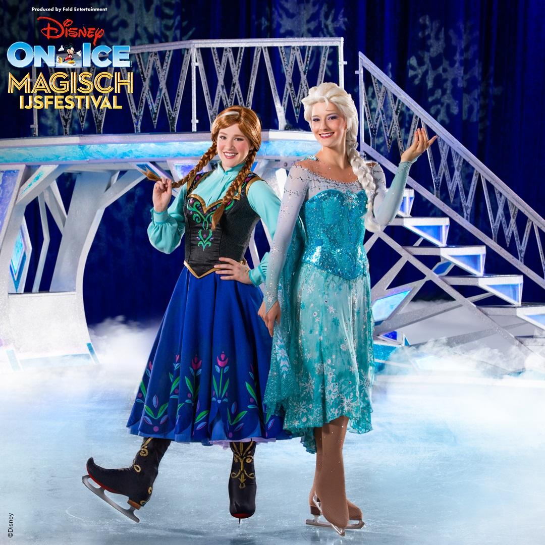 Win 4 zilveren tickets voor Disney On Ice Magisch IJsfestival