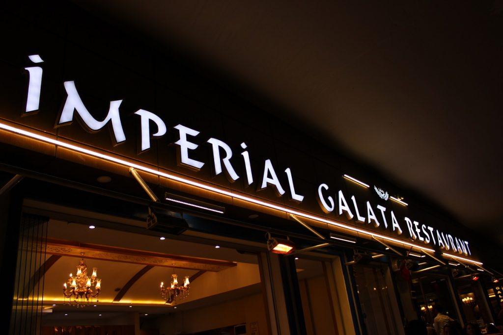 Imperial galata restaurant