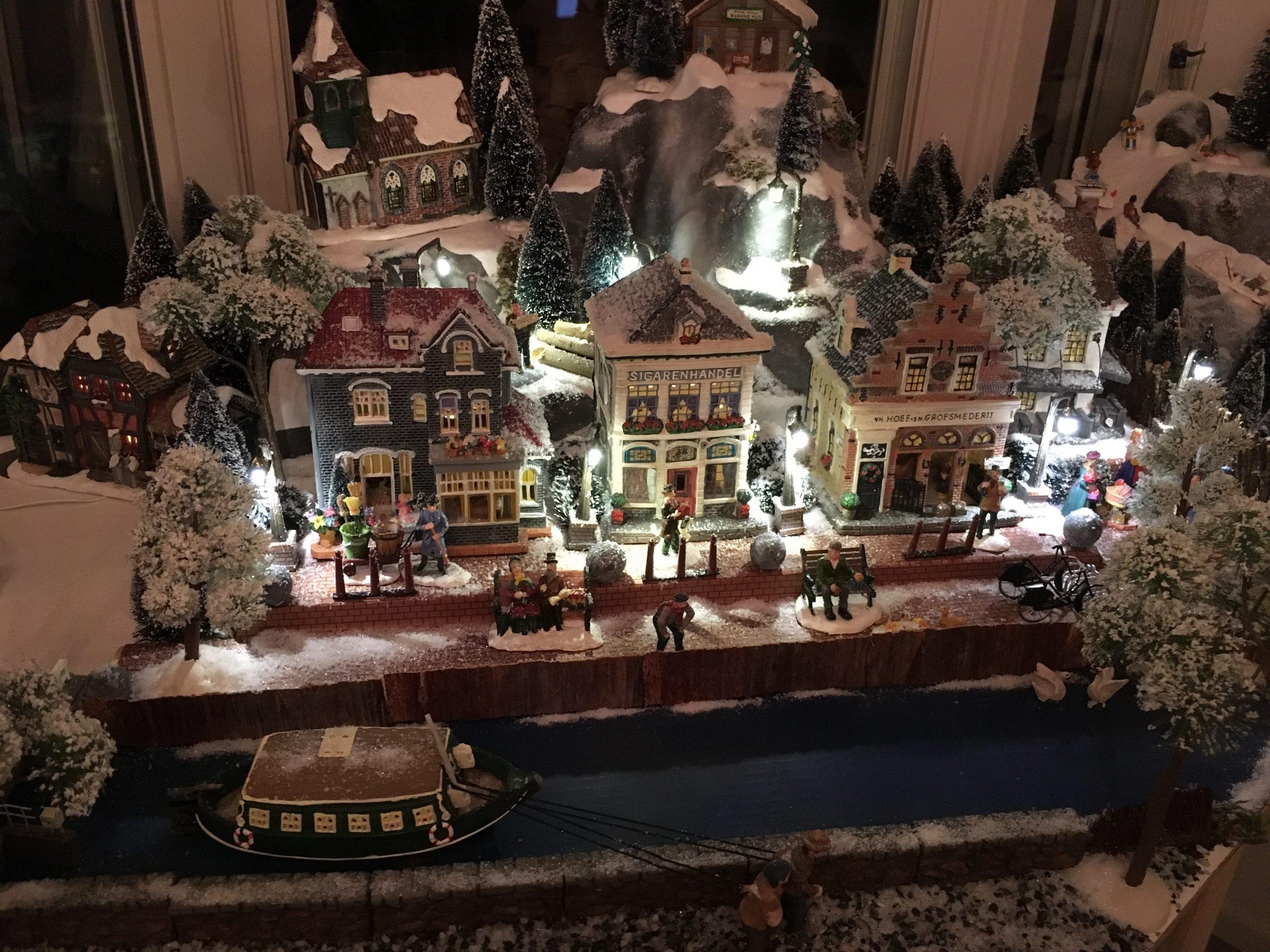 Stap voor stap een kerstdorp opzetten