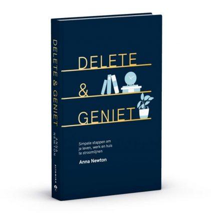 Kerst winweek maak kans op het boek Delete & Geniet 1