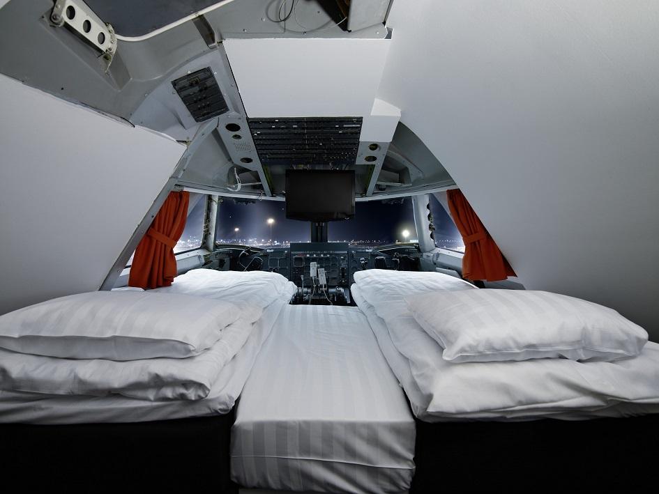 Aparte, bijzondere en bizarre hotels en slaapplekken jumbo stay