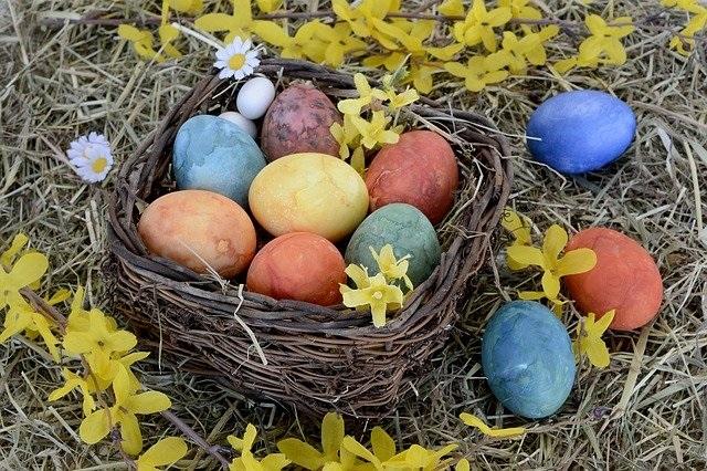 Eieren over na Pasen Enkele recepten om gekookte eieren te verwerken paaseieren