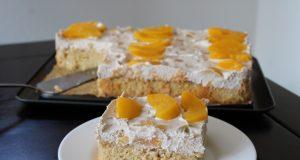 Recept Fanta taart met perziken