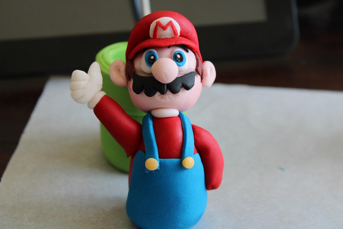 DIY fondant Mario maken met stap voor stap handleiding 1