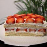 Recept Japanse fluffy cake met aardbeien 3