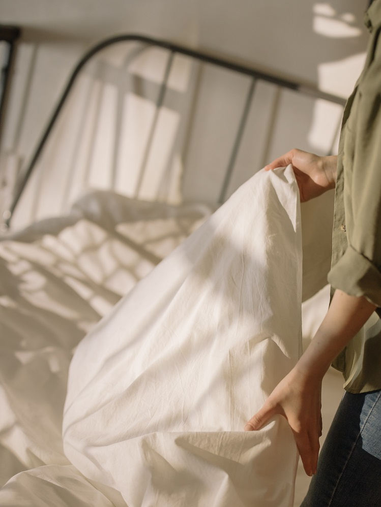 We poetsen ons huis, maar vergeten meestal ons matras onder handen te nemen bed opmaken