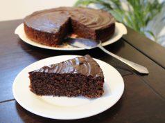 Heerlijk recept chocoladecake zonder bloem taart