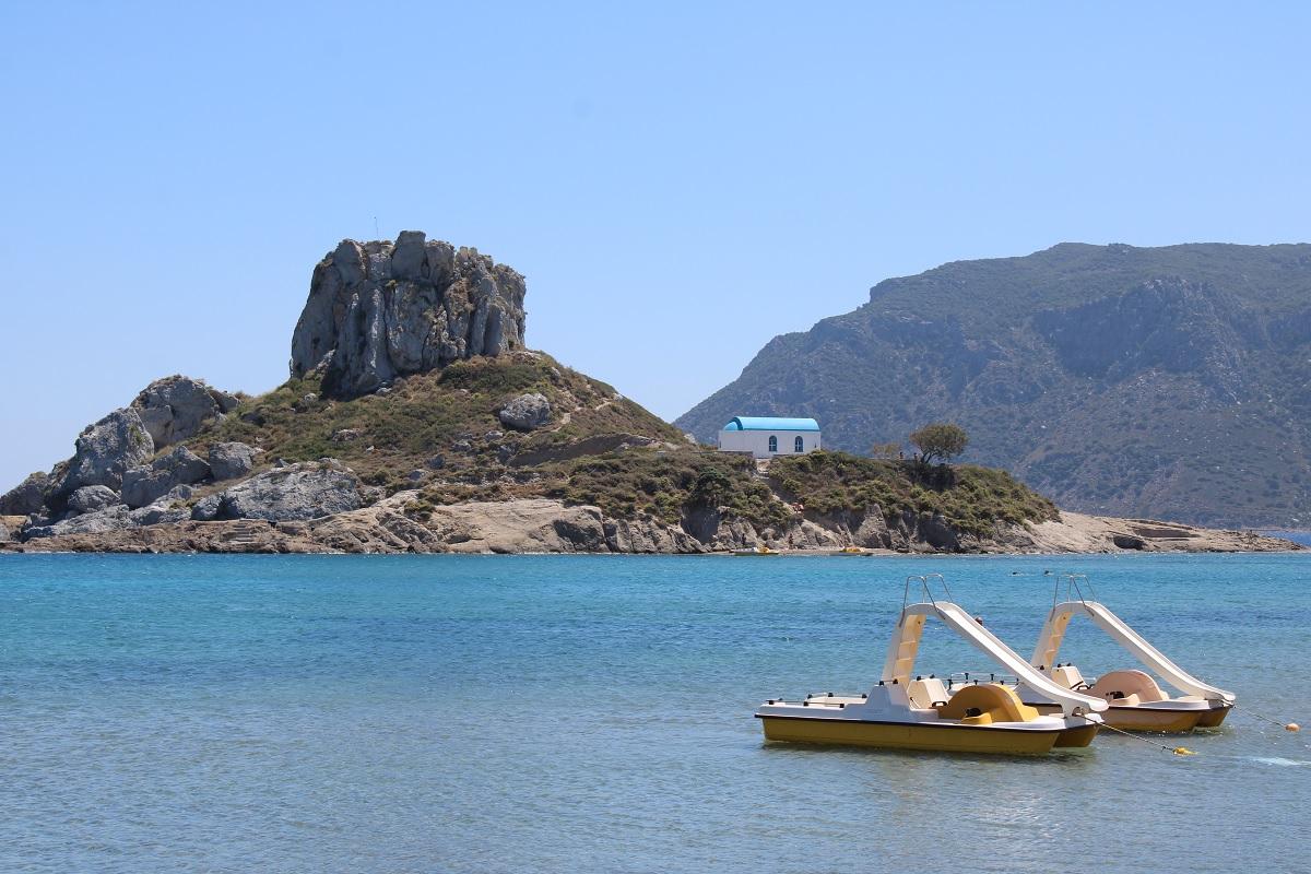 De leukste stranden van Kos Agios Stefanos beach Kastri