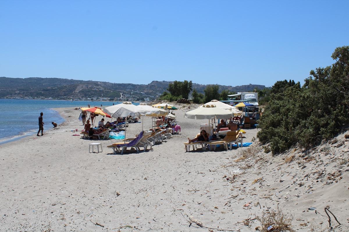 De leukste stranden van Kos Agios Stefanos beach