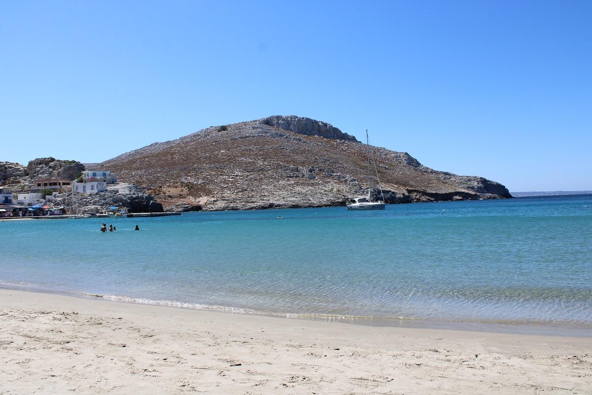 De leukste stranden van Kos Pserimos beach