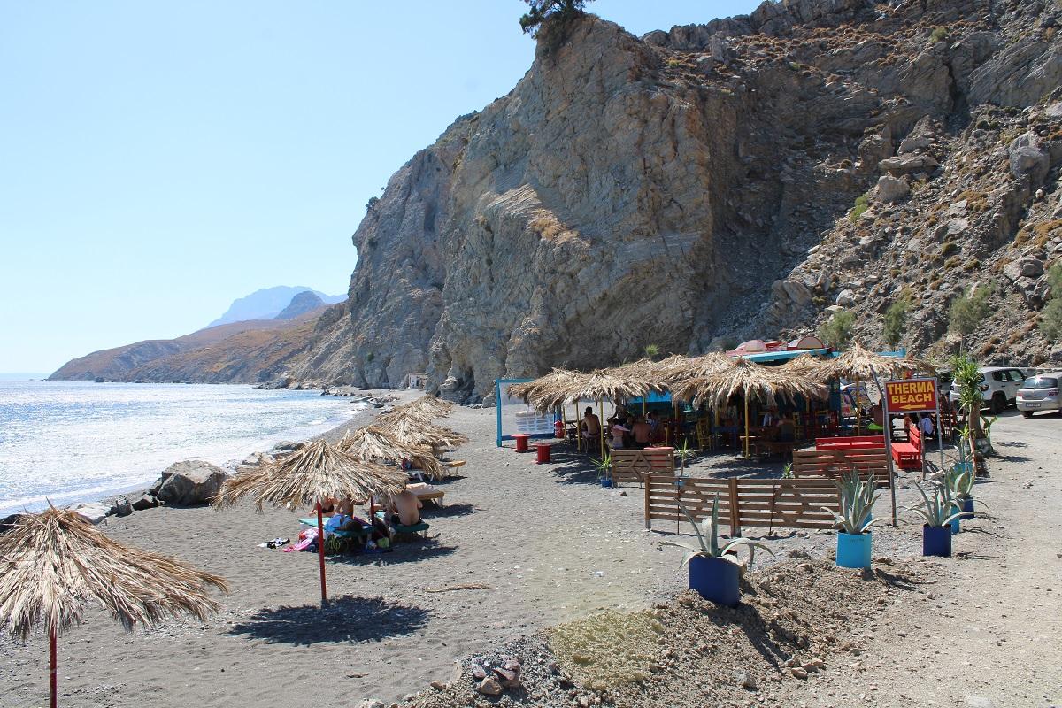 De leukste stranden van Kos Therma beach Embros
