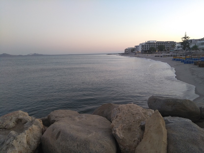 De leukste stranden van Kos kardamena strand zonsondergang