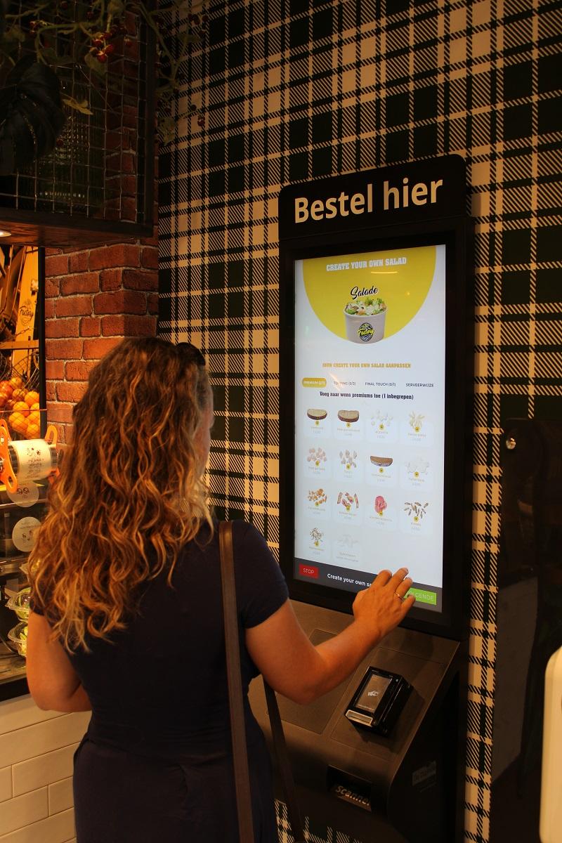 Genieten van gezond fast food van The Fresh Factory in Nijmegen create your own