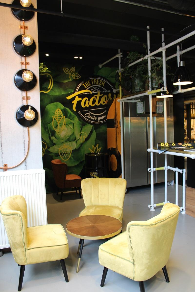 Genieten van gezond fast food van The Fresh Factory in Nijmegen inrichting