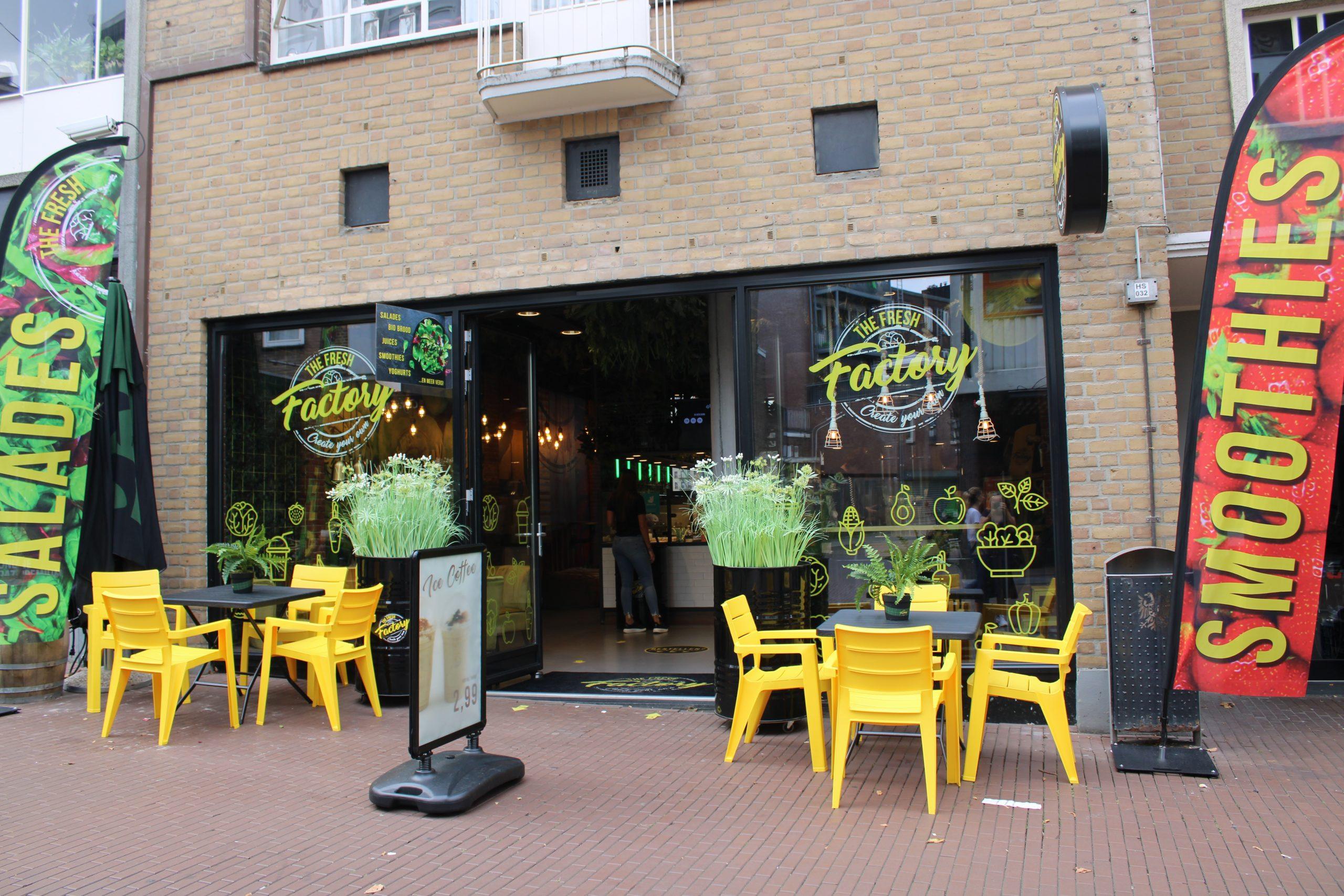 Genieten van gezond fast food van The Fresh Factory in Nijmegen
