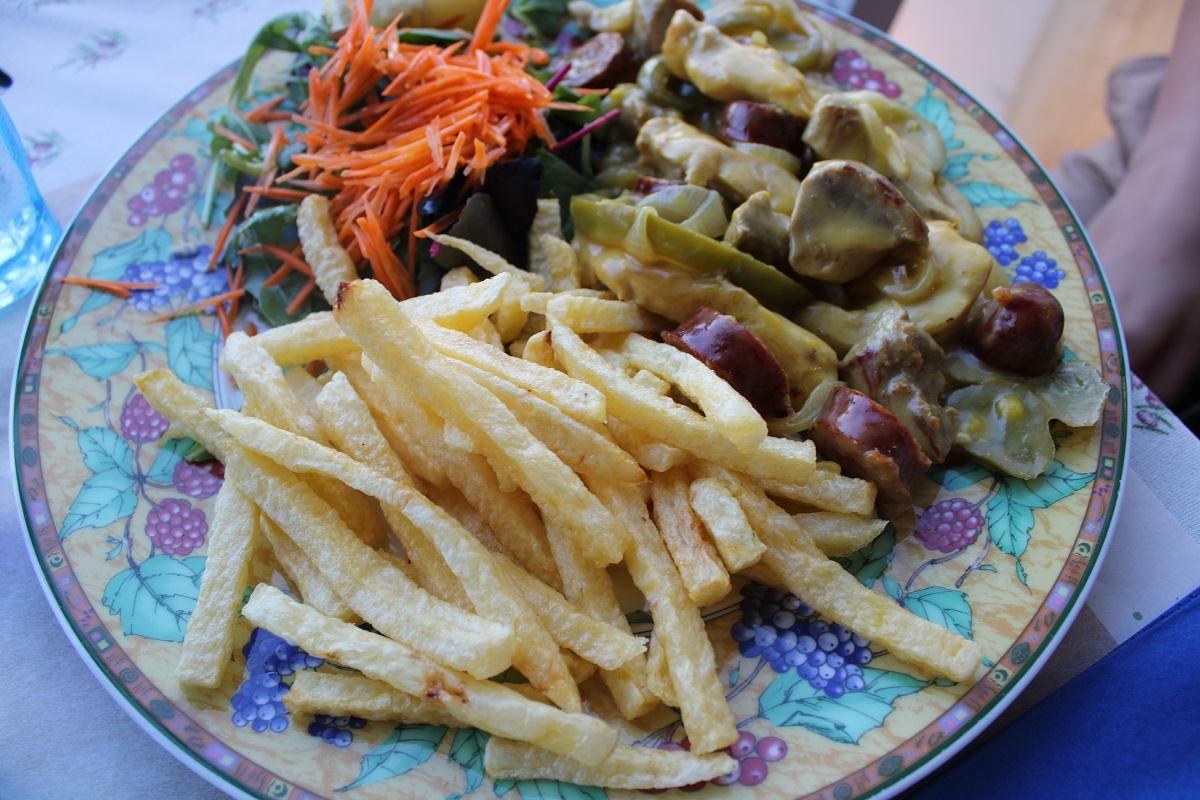 Tips voor lekkere en betaalbare restaurants op Kos Blue Note taverna kip