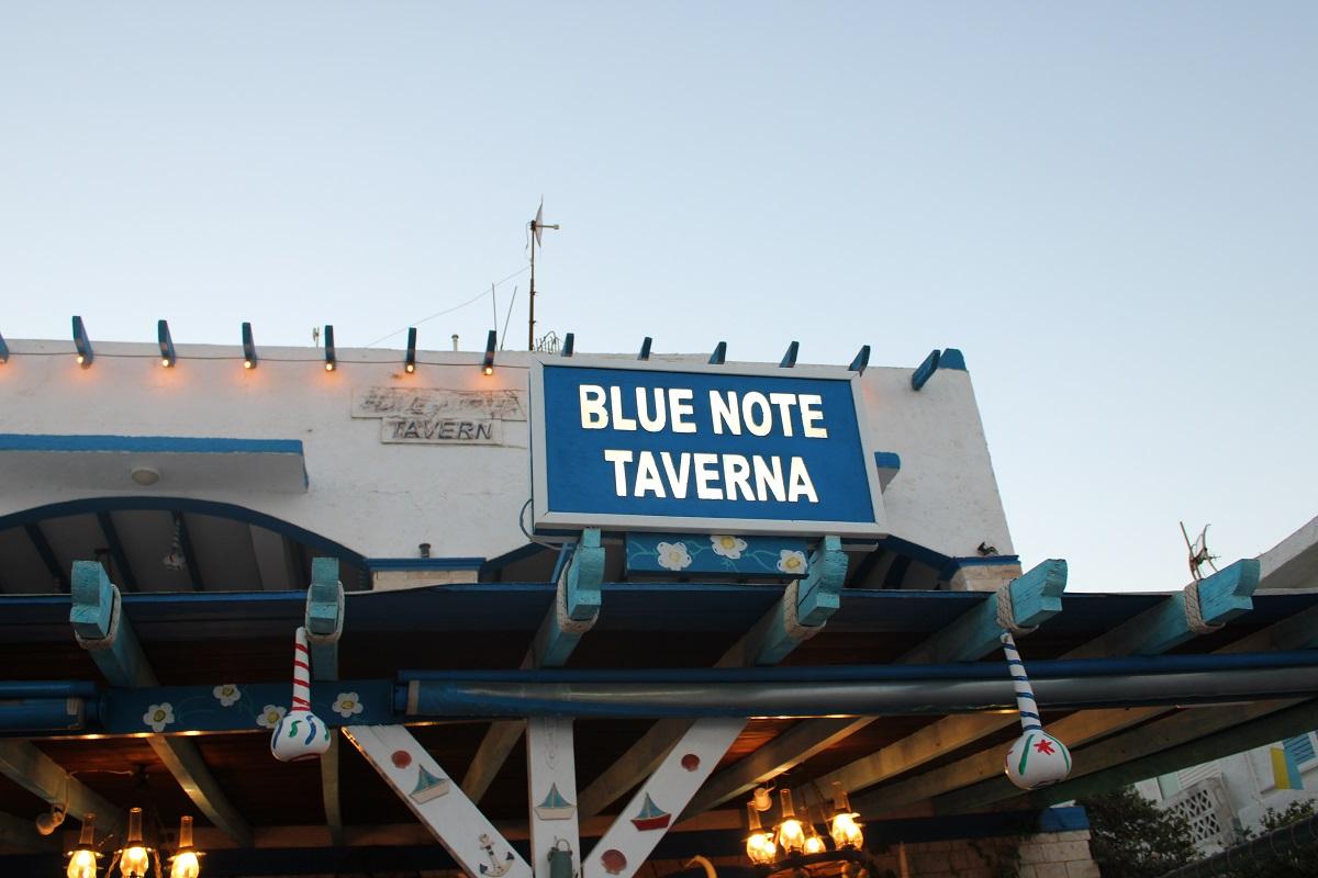 Tips voor lekkere en betaalbare restaurants op Kos Blue note taverna