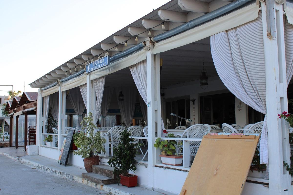 Tips voor lekkere en betaalbare restaurants op Kos Faros restaurant compleet
