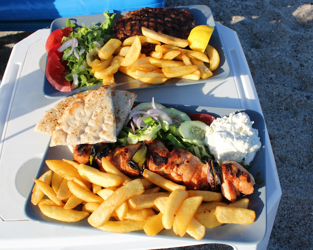Tips voor lekkere en betaalbare restaurants op Kos Faros souvlaki