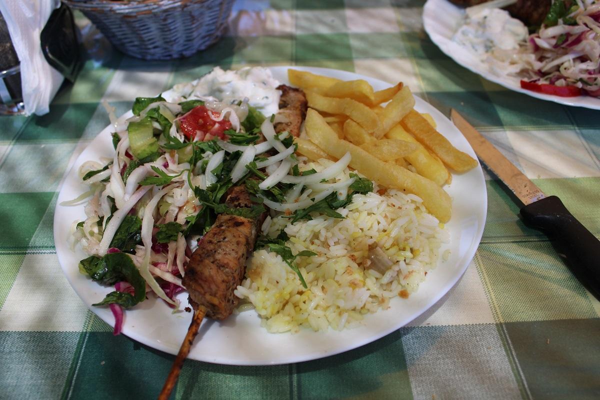 Tips voor lekkere en betaalbare restaurants op Kos Kalymnos souvlaki