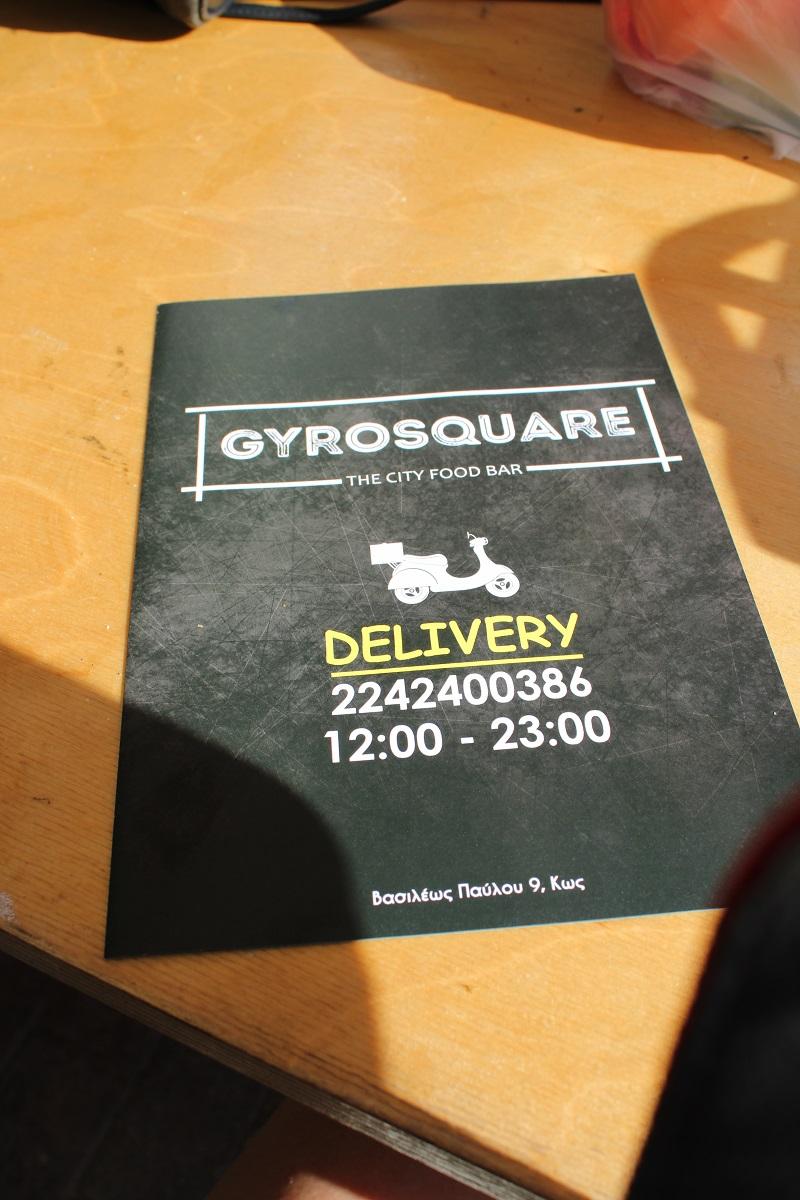 Tips voor lekkere en betaalbare restaurants op Kos GyroSquare delivery