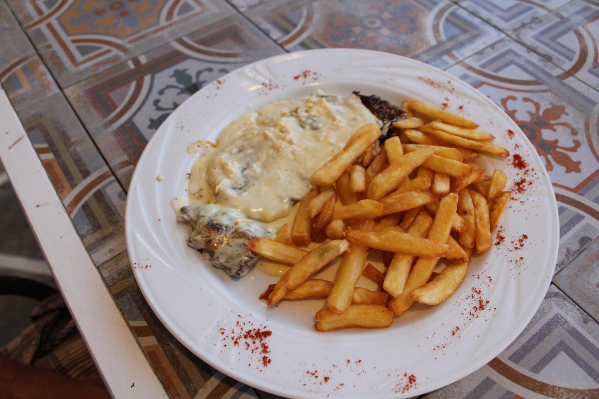 Tips voor lekkere en betaalbare restaurants op Kos Kristas steak